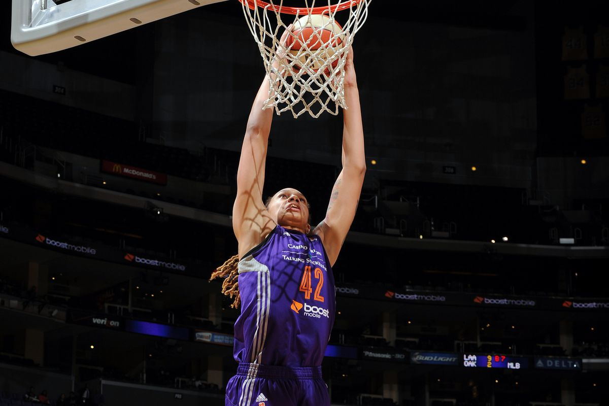 Brittney Griner's emphatic dunk in the third quarter put away a game that was never really in doubt.