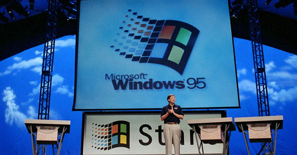 Windows 95 is 25 years old today – The Verge