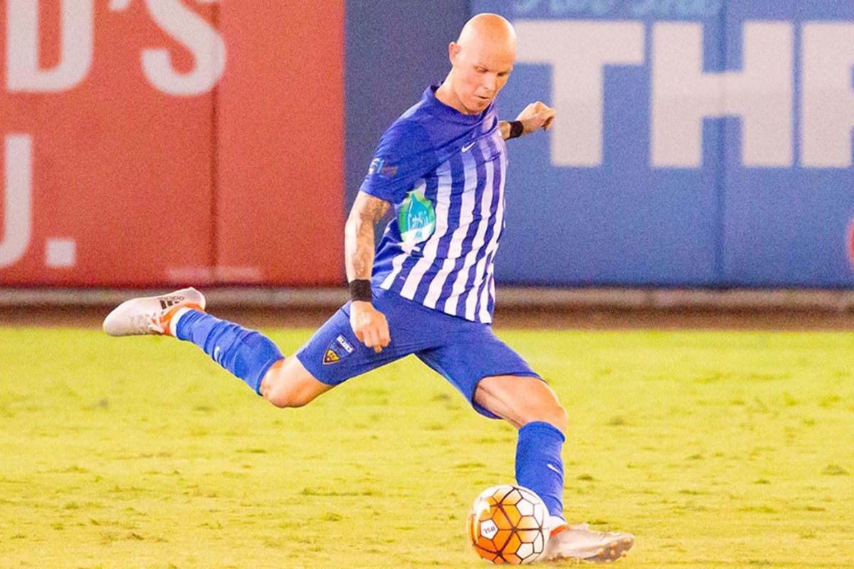 Chaplow scores in his first start for the Blues.