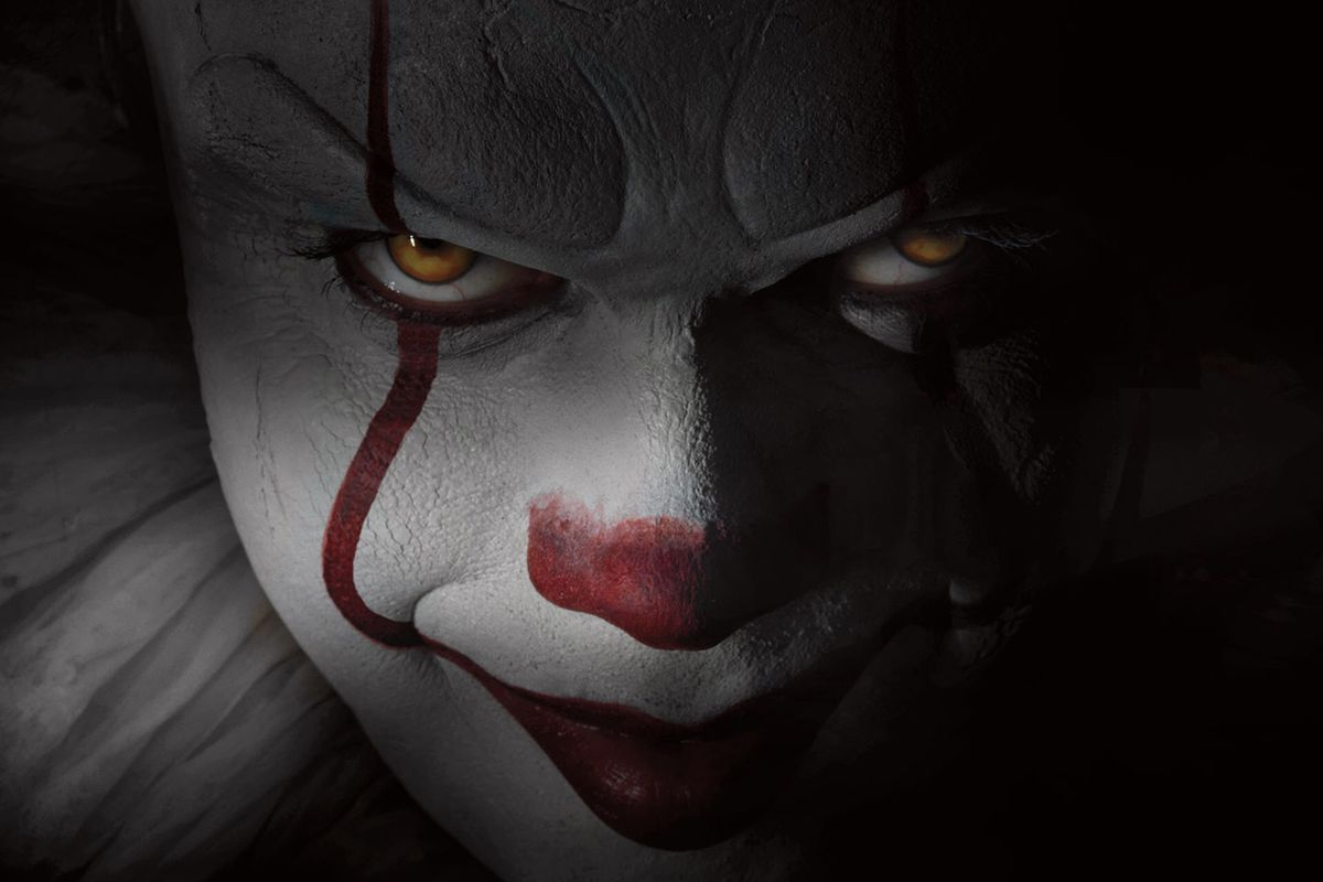 the new pennywise terrified the young cast of stephen king s it