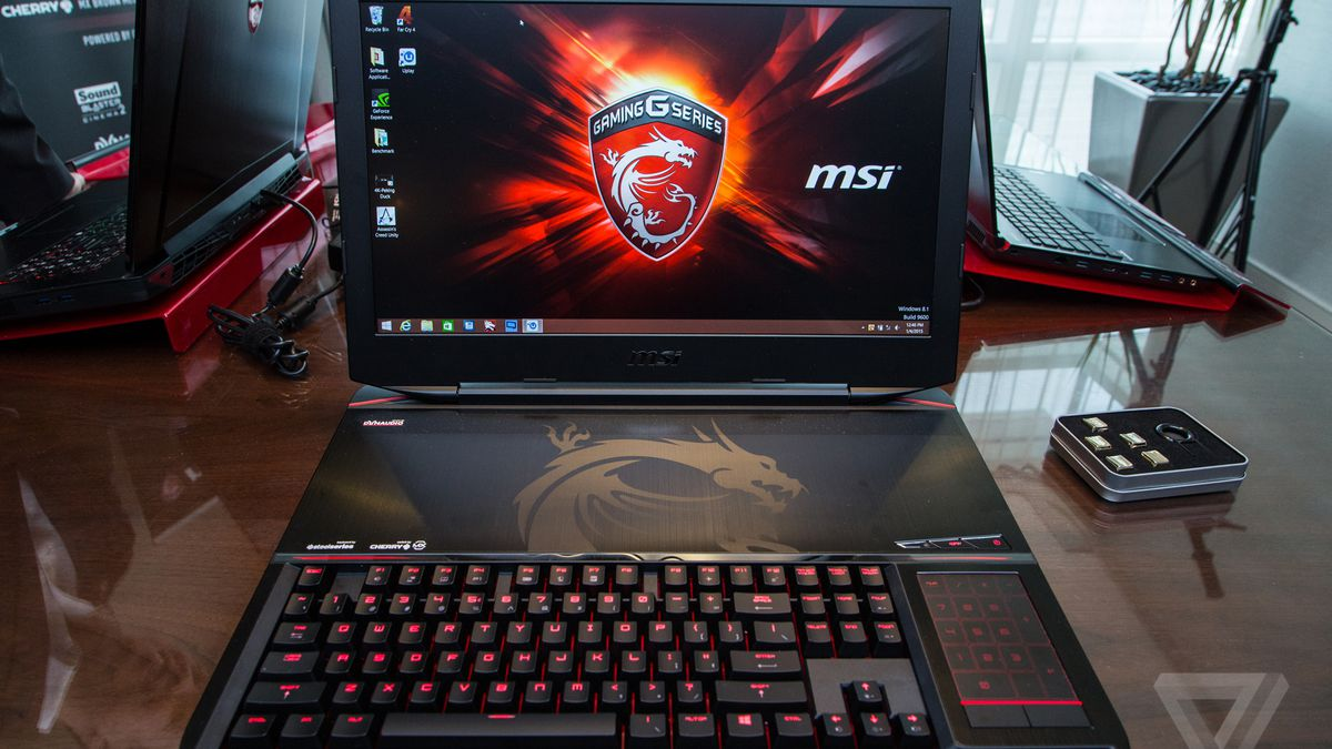 This is MSI's insane mechanical keyboard laptop - The Verge