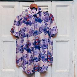 """<b>House of Holland</b> Silk Frill-Back Shirt, $348. Photos by <a href=""""http://peladopelado.com"""">Driely S.</a>"""