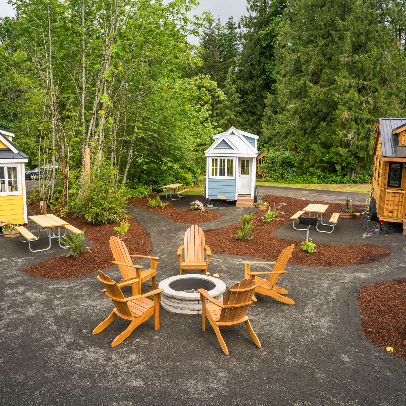 How I survived a tiny home vacation—with two kids - Curbed