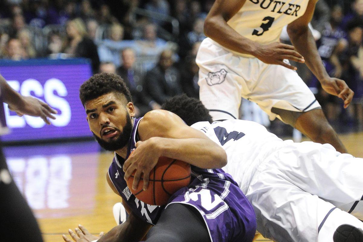 NCAA Basketball: Northwestern at Butler