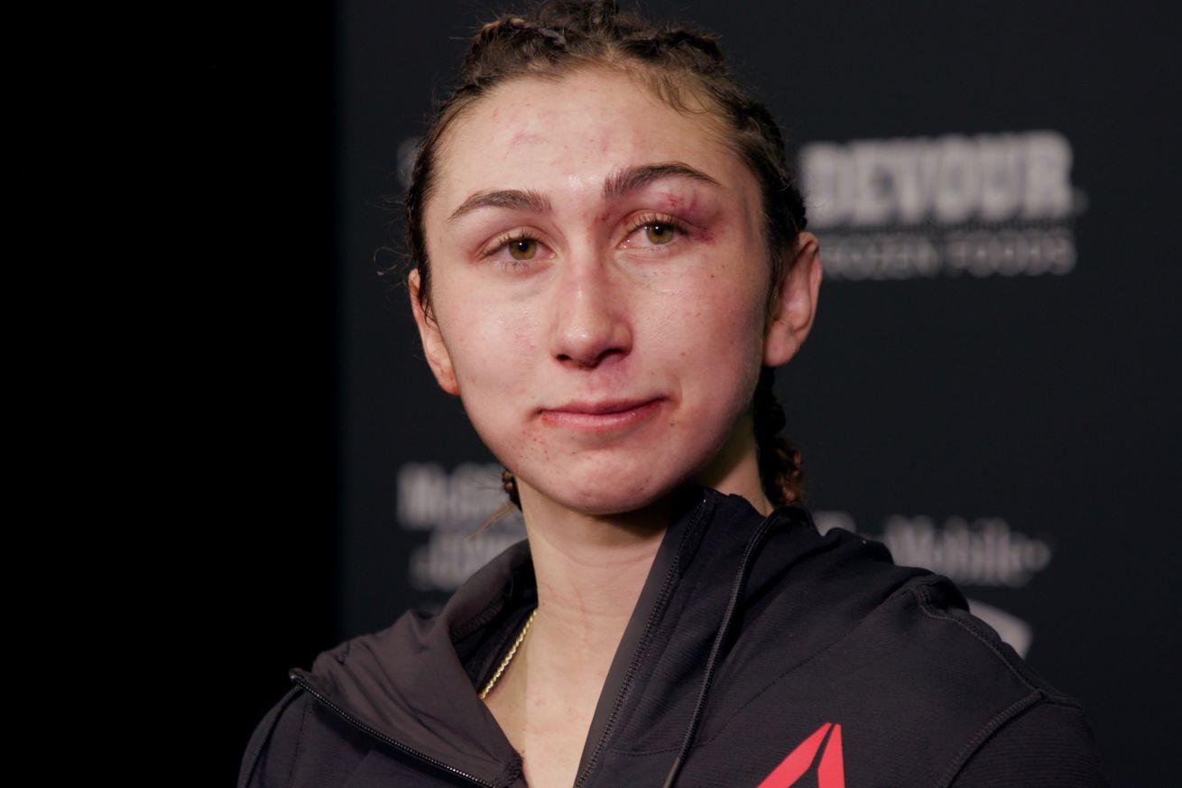 Video: Sabina Mazo enjoyed bloody battle with JJ Aldrich, 100 percent confident of win