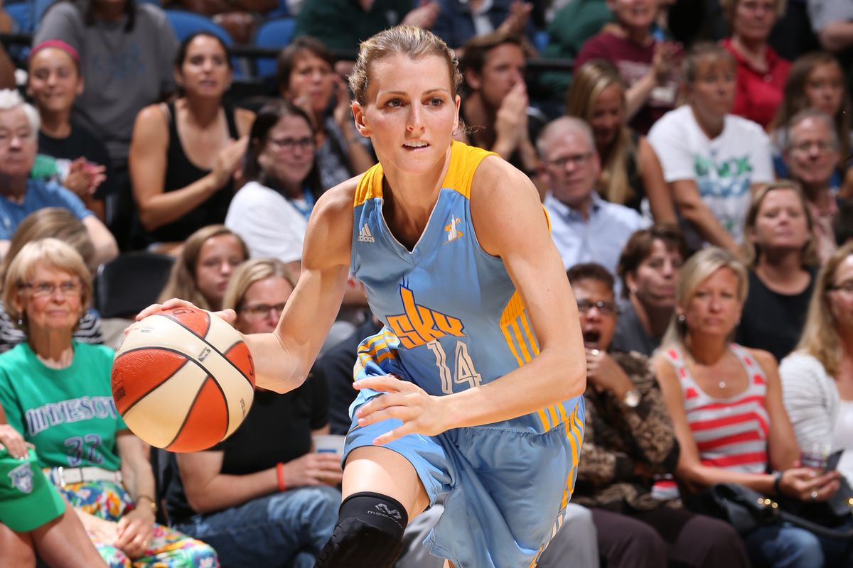 Chicago Sky guard Allie Quigley was the only unanimous award winner from Swish Appeal's panel.