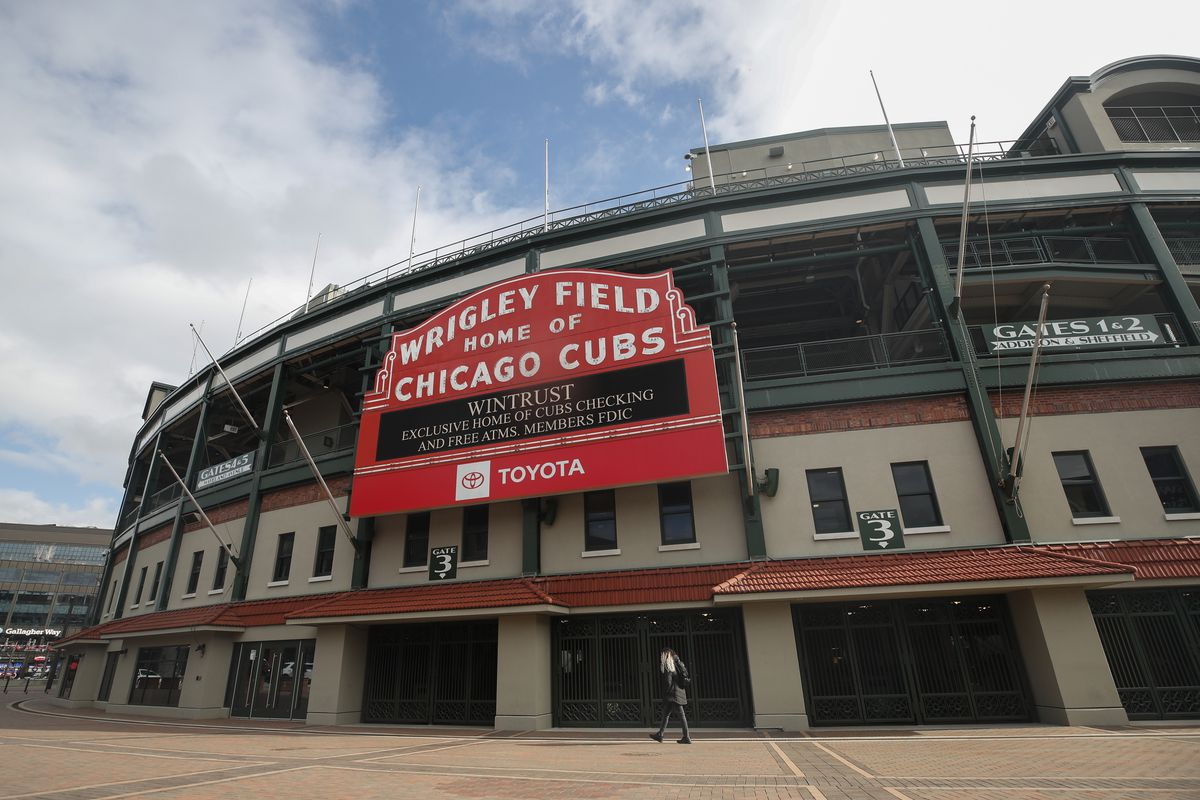 MLB: Chicago Cubs-Touchless Entry