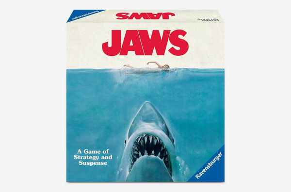 The box art for the Jaws strategy game