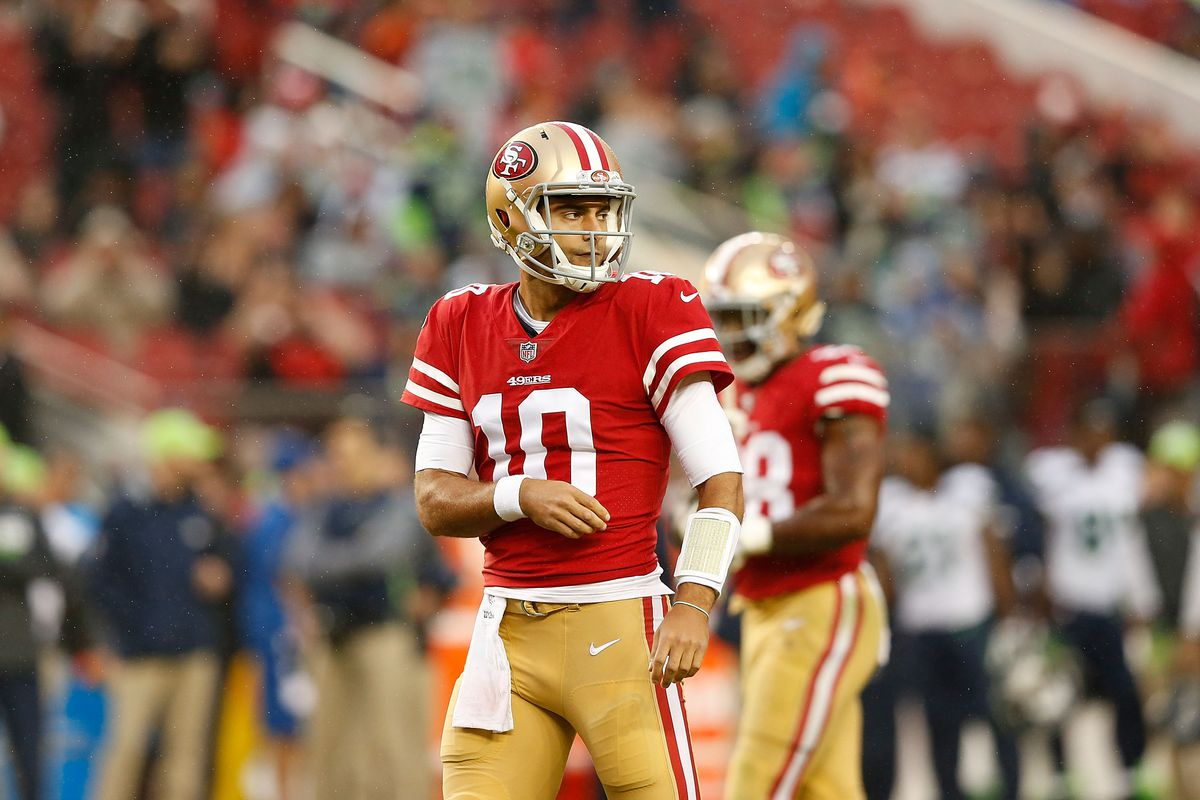 21633e516 What the 49ers have in Jimmy Garoppolo - Field Gulls