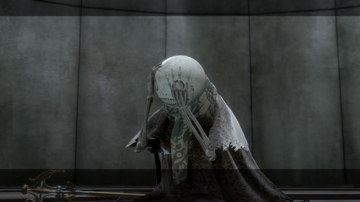Emil learns about his dark past in Nier Replicant.