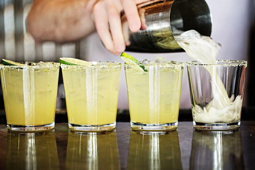 Margaritas at La Condesa