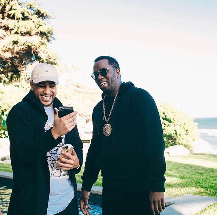 """Los Antonio and Sean """"Diddy"""" Combs"""