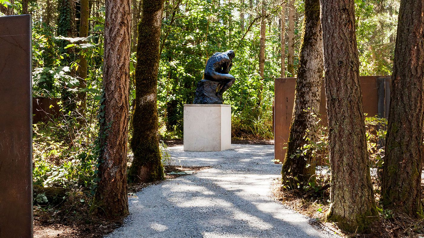 New Tacoma sculpture garden highlights works of Auguste Rodin ...