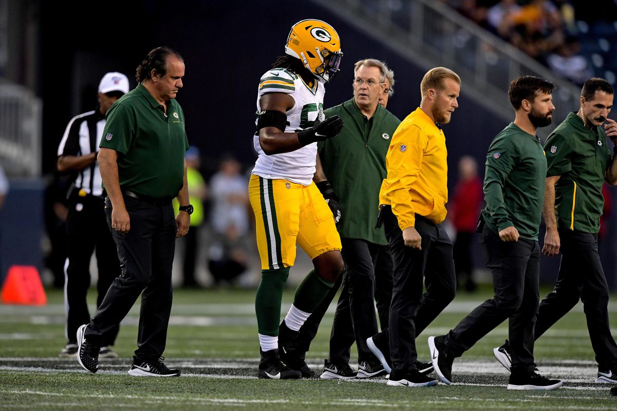 How should Packers respond to each of the major injuries suffered in Winnipeg?