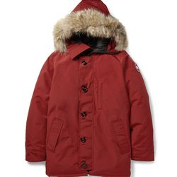 """<a href=""""http://www.mrporter.com/en-us/mens/canada_goose/chateau-coyote-trimmed-down-filled-parka/458815"""">Canada Goose Parka</a>, $745 <br>""""This Canada Goose parka is the puffa daddy. Our friends from the far north know how to brave the cold: a down-fill"""