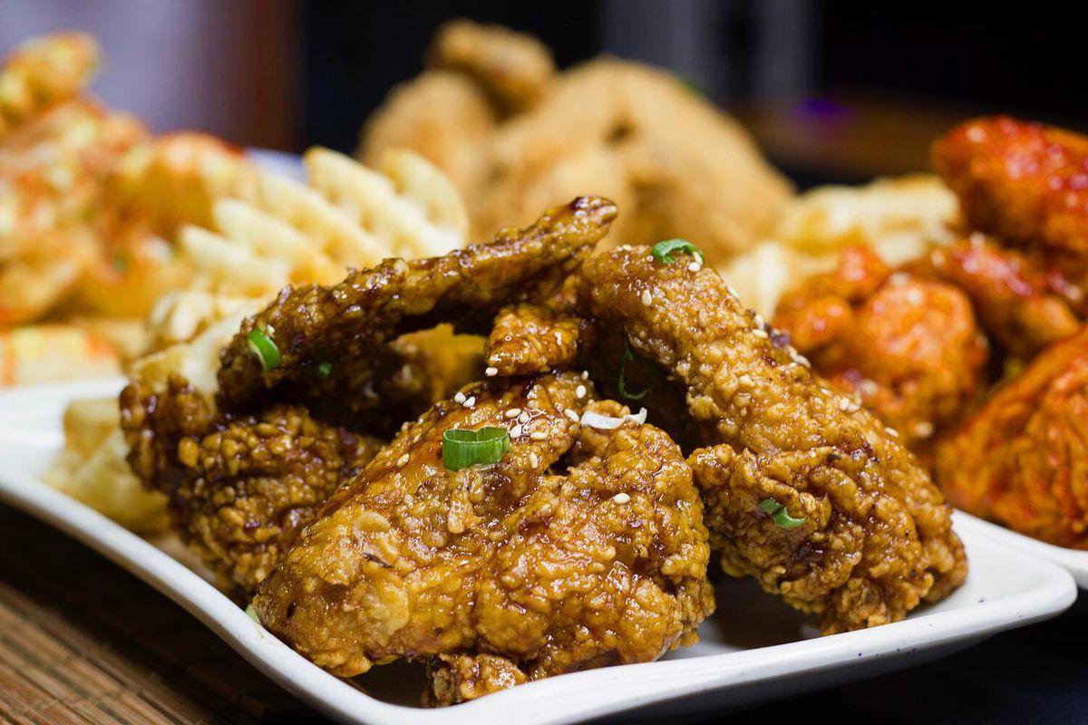 Korean fried chicken from Seoulju