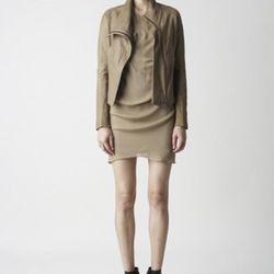 Helmut Lang dress and jacket