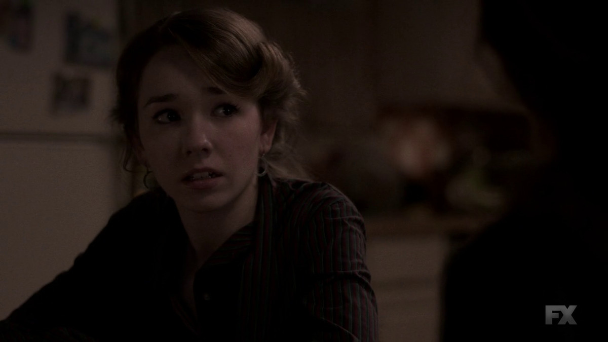 Paige (Holly Taylor) learns the truth about her parents on The Americans.