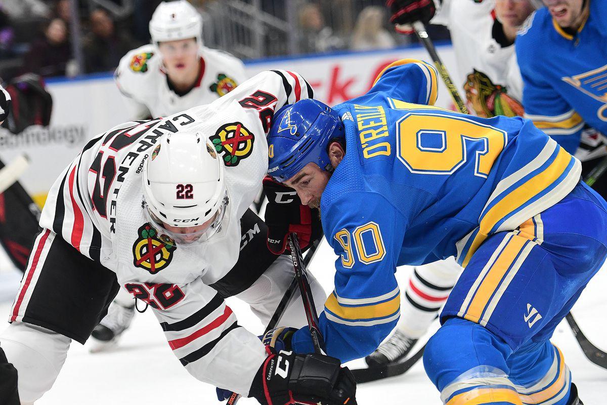 NHL: DEC 14 Blackhawks at Blues