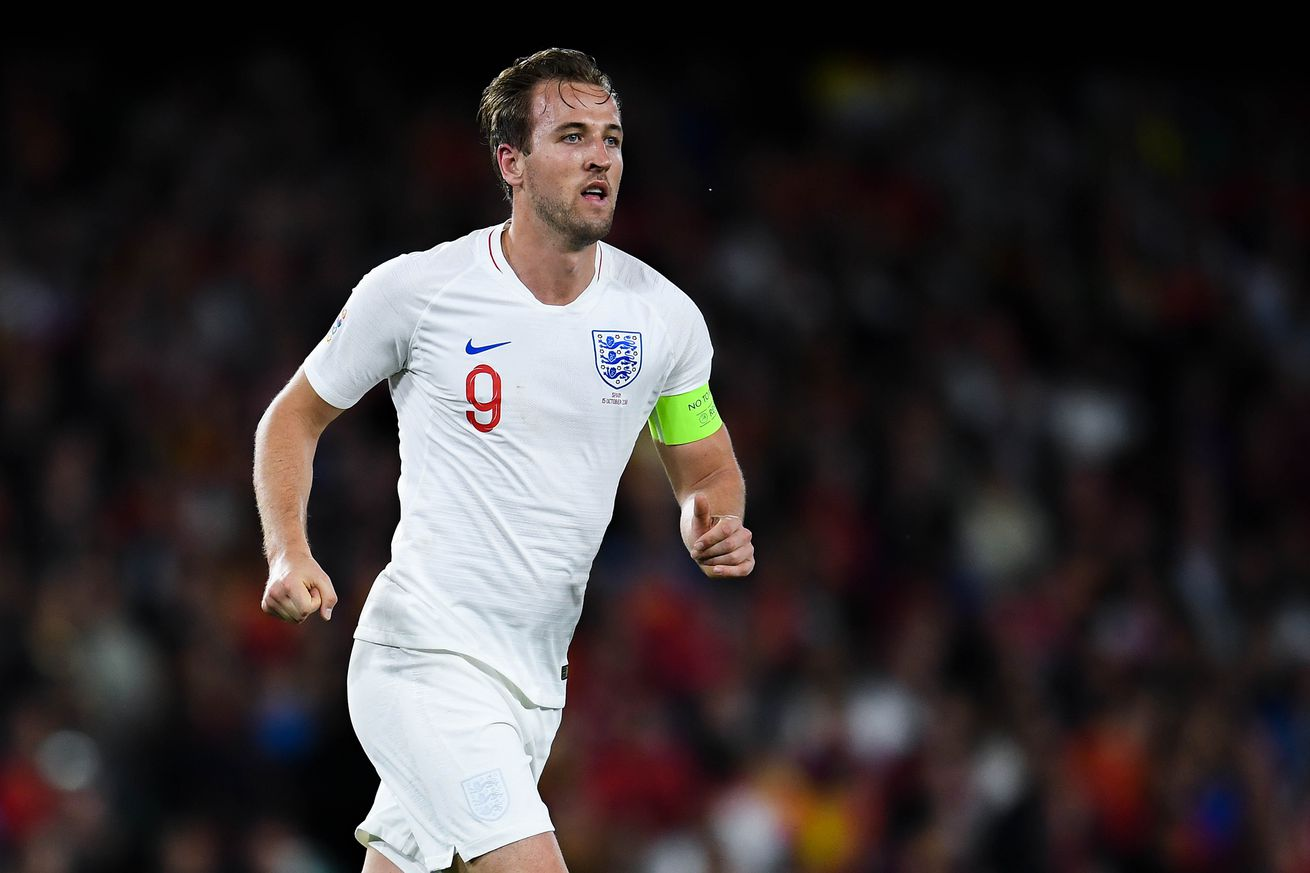 Kane: ?Not the day to talk about Real Madrid?