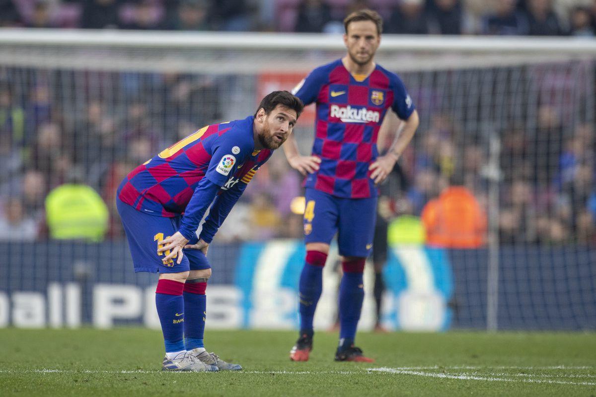Barcelona V Eibar