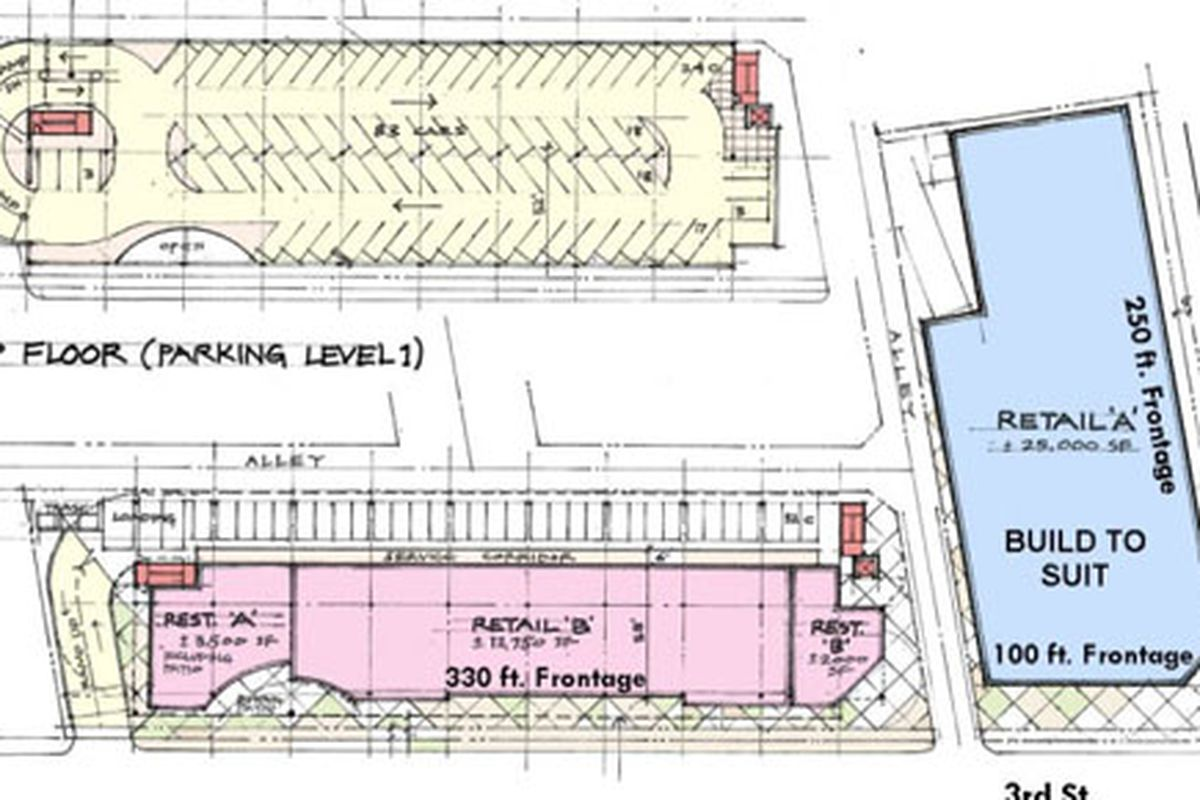 A rendering of the second floor
