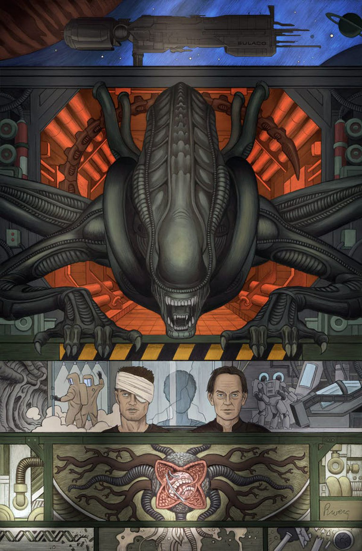 Image result for alien 3 comic