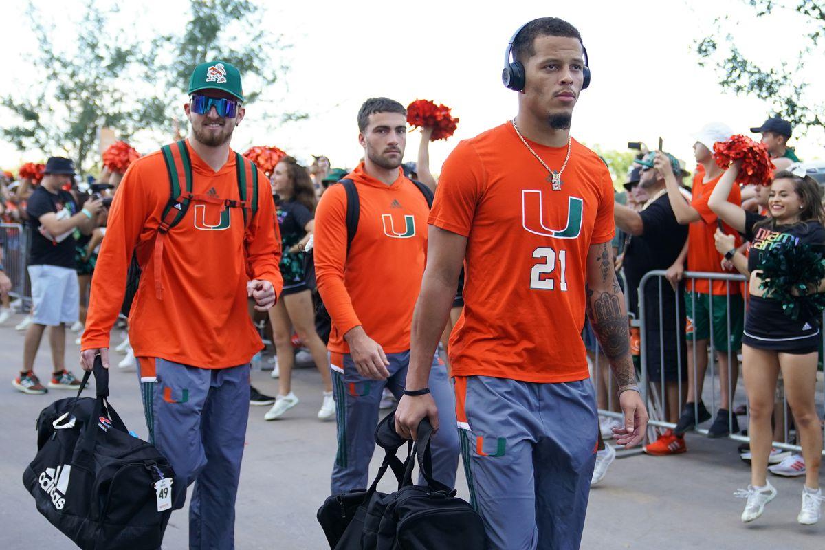 NCAA Football: Central Conn. St. at Miami