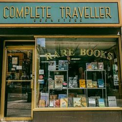 """<b>↑</b>Indulge in a little daydreaming about far-flung locales at <b><a href="""" http://www.ctrarebooks.com/"""">The Complete Traveller Antiquarian Books</a></b> (199 Madison Avenue). The shop, a quiet little midtown refuge, is stocked with rare, collectible"""