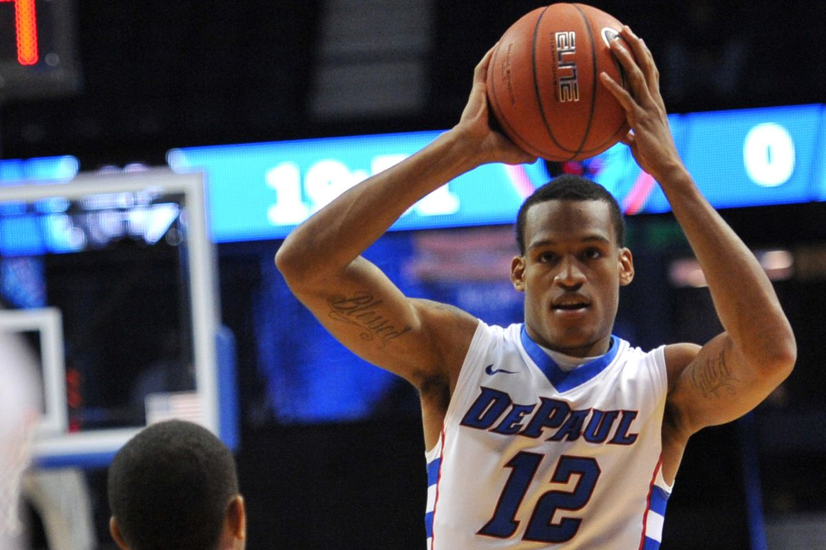 Cleveland Melvin is once again having a solid season for DePaul.