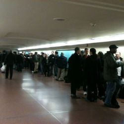 The line this month at Apple's Grand Central opening