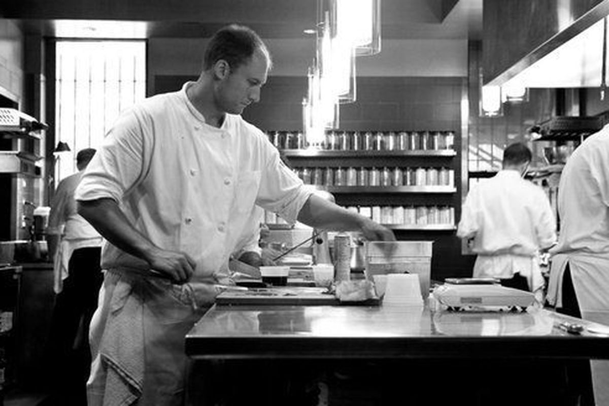 """<a href=""""http://eater.com/archives/2012/07/19/dave-beran-on-alinea-grant-achatz-and-the-road-to-next.php"""">Eater Interviews Dave Beran, Part One</a> and <a href=""""http://eater.com/archives/2012/07/20/dave-beran-interview-part-two-july-2012.php"""">Part T"""