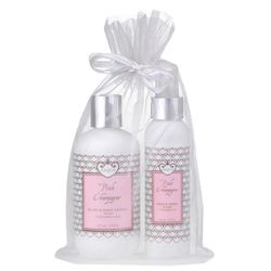 This indulgent combo of body lotion and mist is packed with nourishing, natural ingredients.