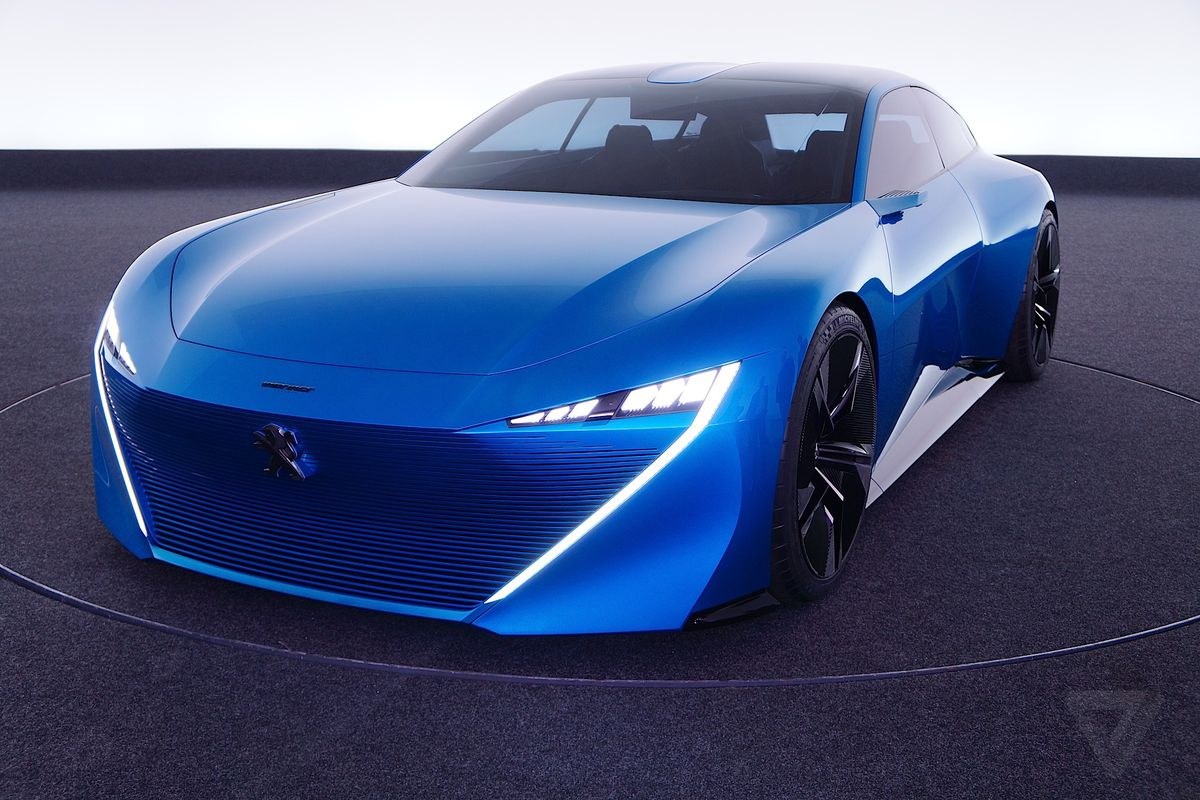 peugeot's instinct concept car is its vision of an autonomous near