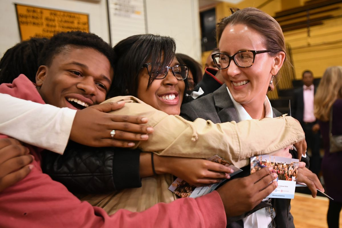 Katherine Watkins was one of 45 educators — and one of two Tennessee teachers — honored nationally in 2017 by the the Milken Family Foundation.