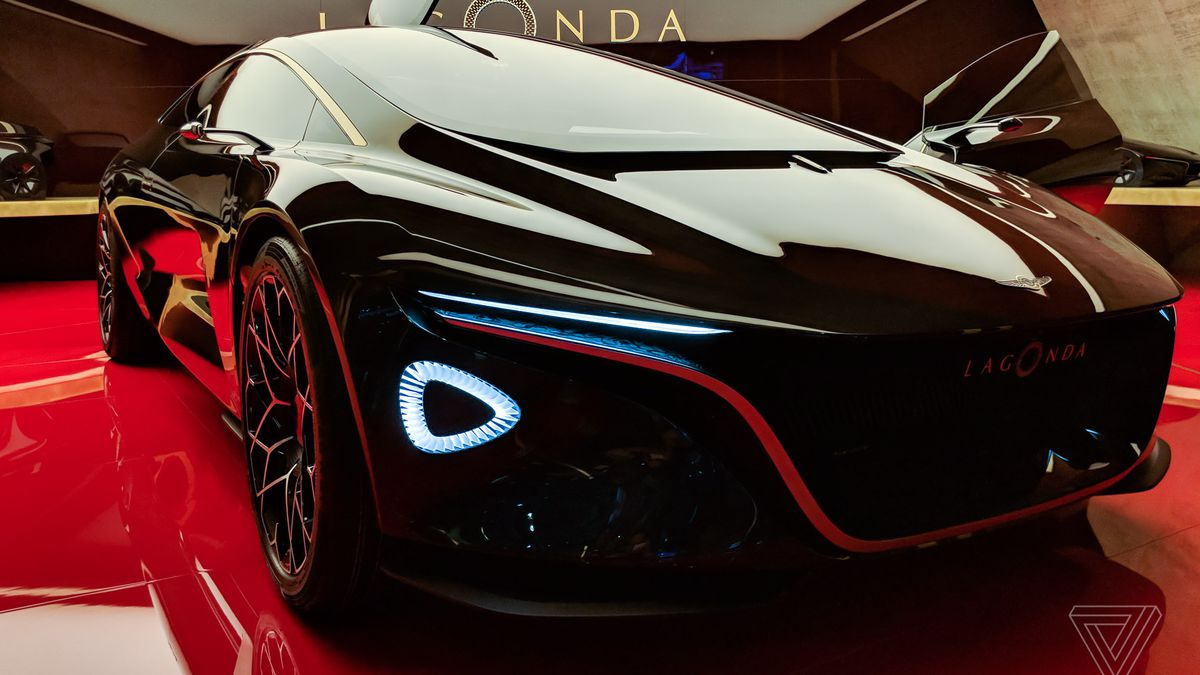 aston martin's lagonda concept car is breathtaking - the verge
