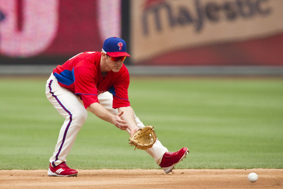 Chase Utley doesn't care about scouting reports on his glove