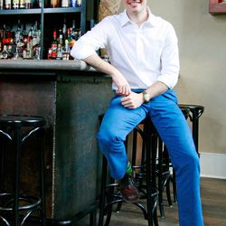 Brooks Reitz, General Manager of The Ordinary in Charleston, SC. [Photo by Rémy Thurston]