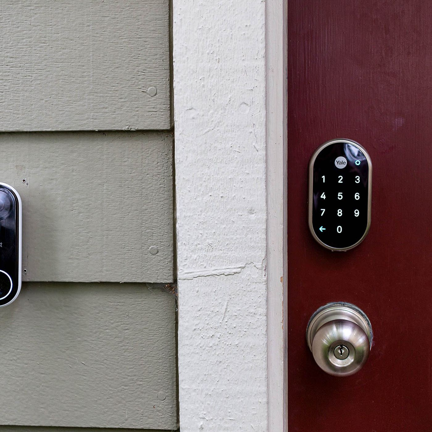 Nest o and Yale lock review: a smart entrance - The Verge Nest Doorbell Wiring Options on