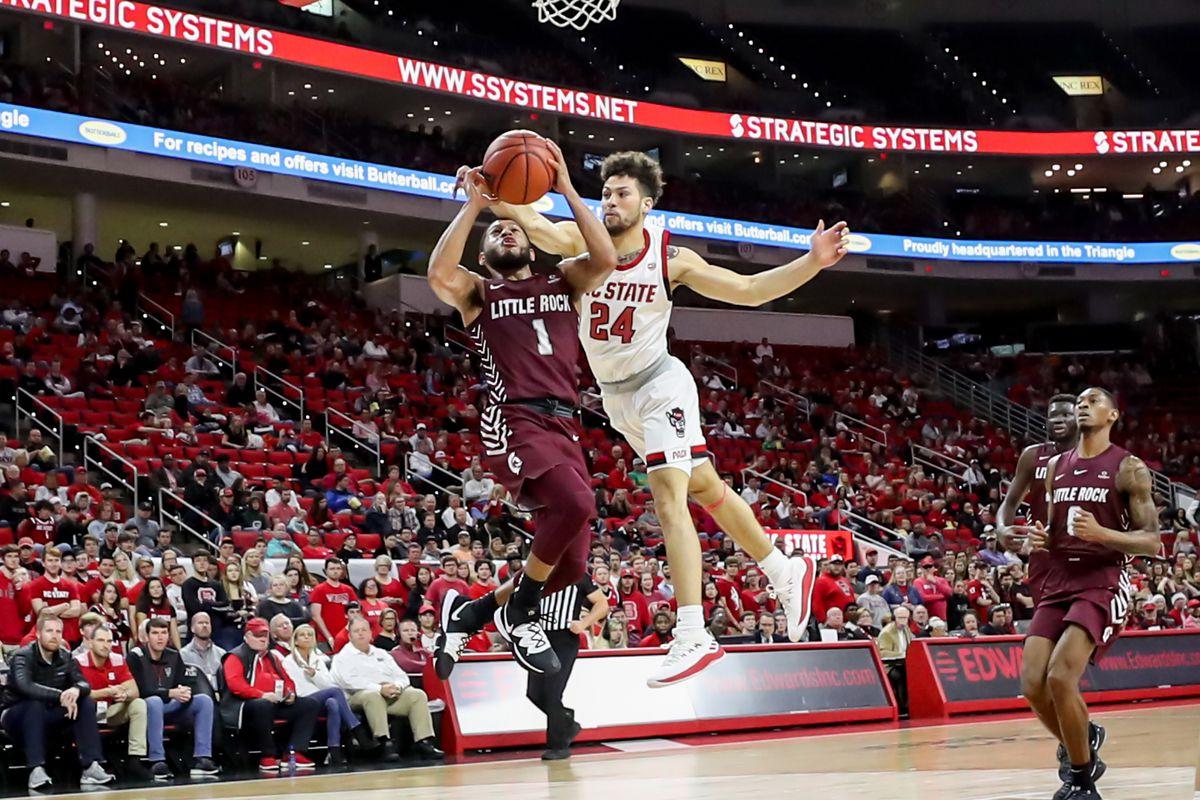 COLLEGE BASKETBALL: NOV 23 Arkansas-Little Rock at NC State