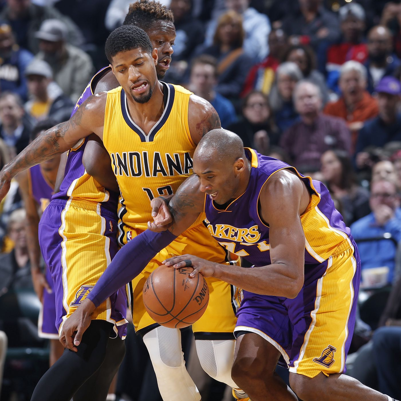 9de01420ca49 Lakers were told not to trade young core for Paul George - Silver ...