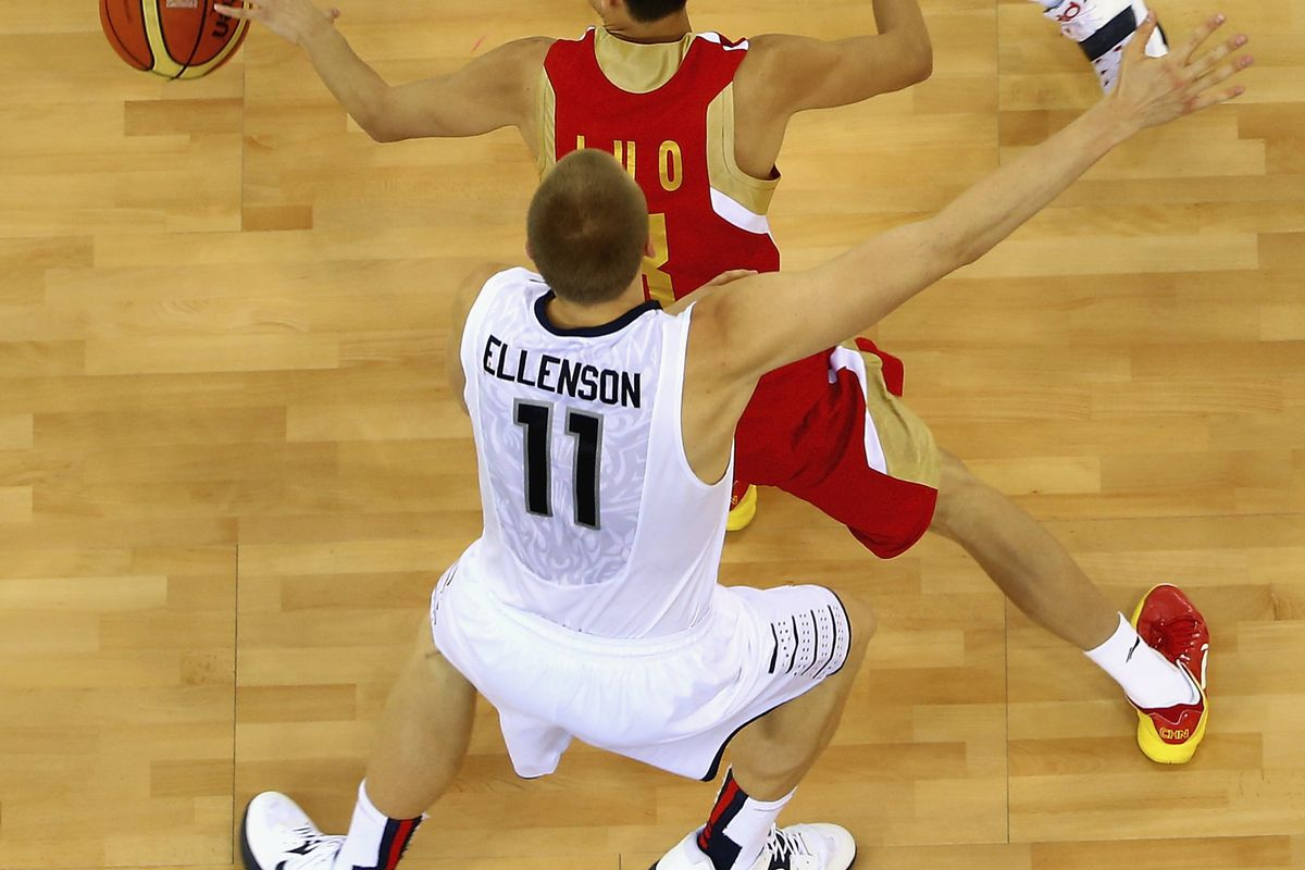 Hey, check it out!  A picture of Henry Ellenson from the FIBA U17 World Championships!