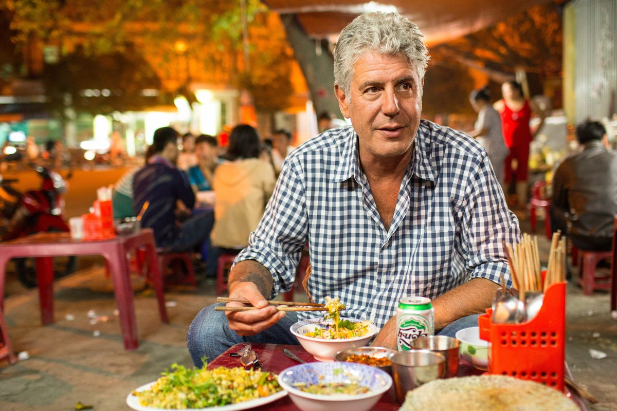 Image result for anthony bourdain noodles