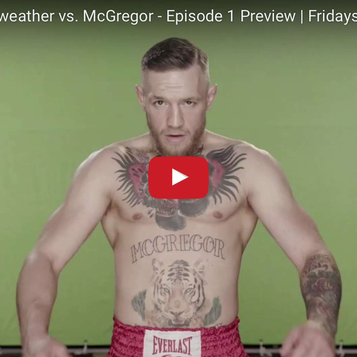 Hedendaags Mayweather-McGregor 'All Access' Ep. 1 video preview - MMAmania.com BF-94