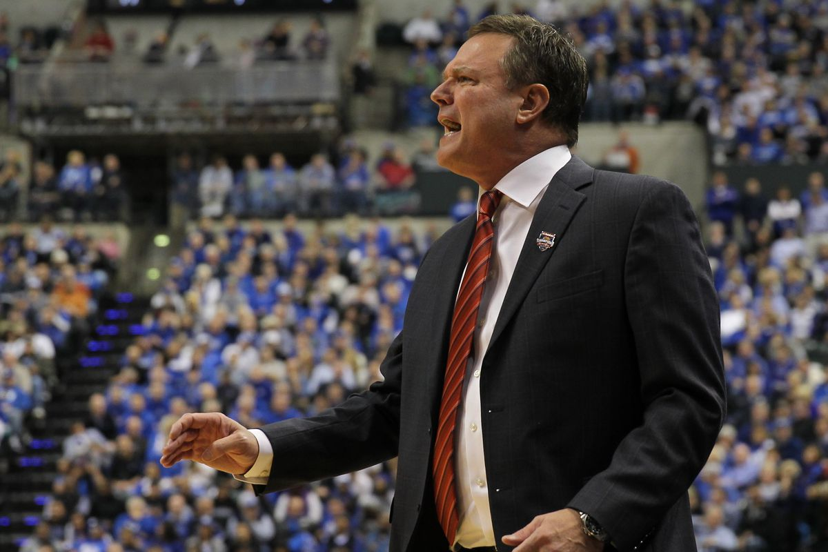 Bill Self just suffered the worst loss of his career. Chew on that for a minute ... and then savor.