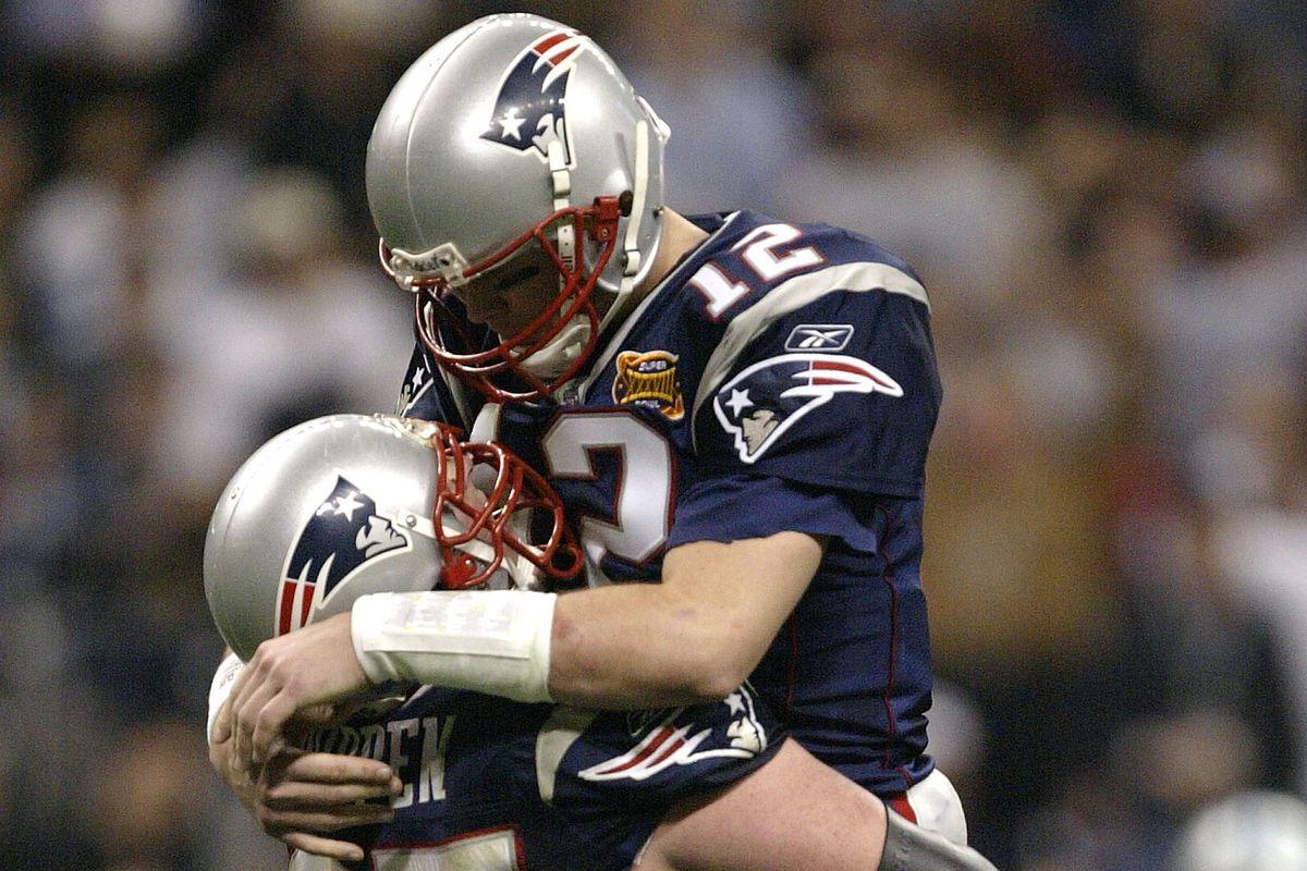 New England Patriots Super Bowl History  Super Bowl XXXVIII - Pats ... 98f1f8aa3