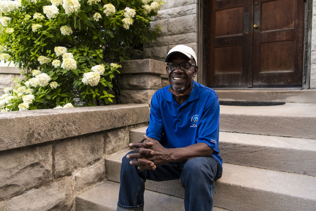 Former Deputy House Majority Leader Arthur Turner Sr. sits in front of his home Tuesday.