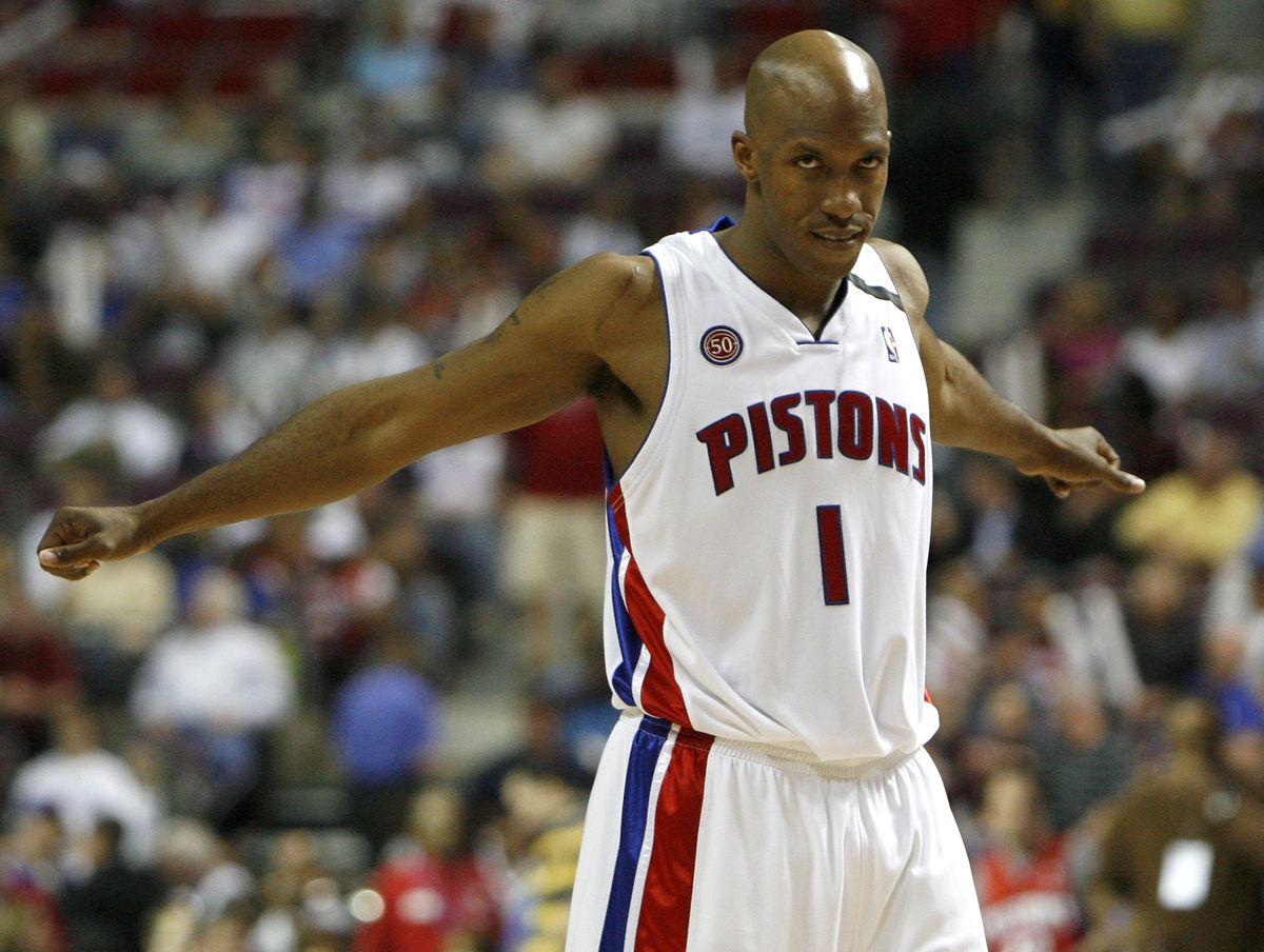 Orlando Magic v Detroit Pistons, Game 2