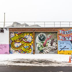 The Welling Court Mural Project is a conglomeration of more than 150 unique street art exhibitions created by a myriad of both local and international artists.