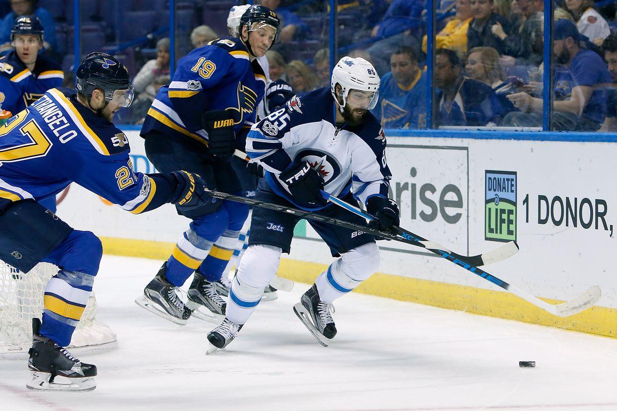 NHL: Winnipeg Jets at St. Louis Blues